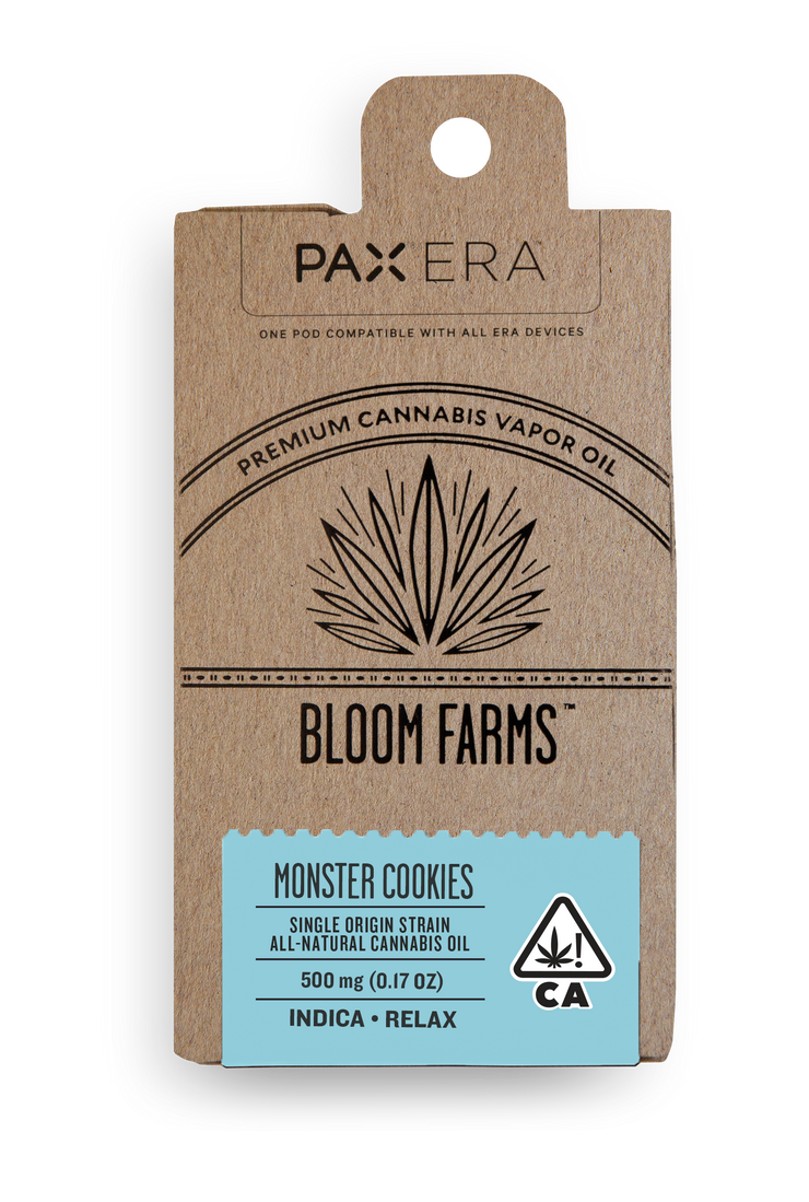 Bloom Farms Monster Cookies PAX Pod 81% THC