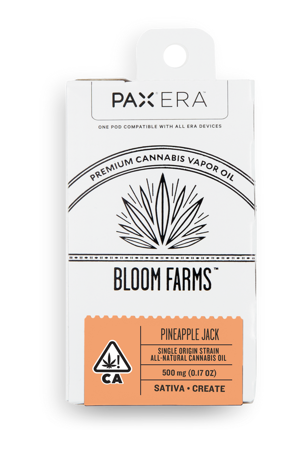 Bloom Farms Pineapple Jack Strain PAX Era Pod