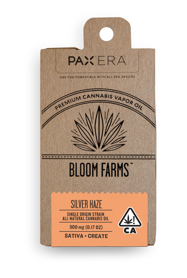 Bloom Farms Silver Haze PAX Pod 89% THC