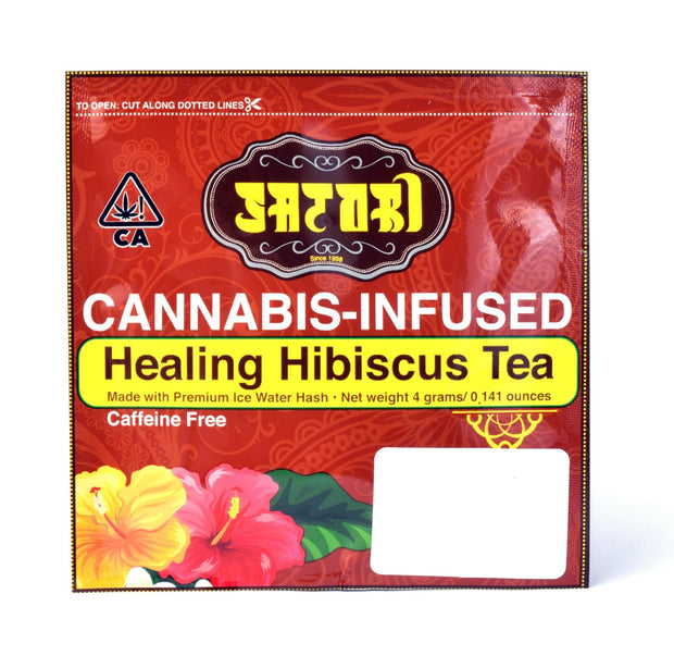 satori healing hibiscus tea bag buy cannabis petaluma california