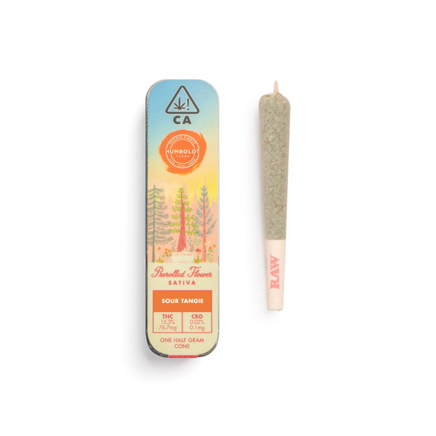 Humboldt Farms Sour Tangie Pre-roll (single)