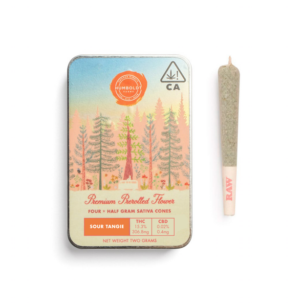 Humboldt Farms Sour Tangie Pre-roll (4pk)
