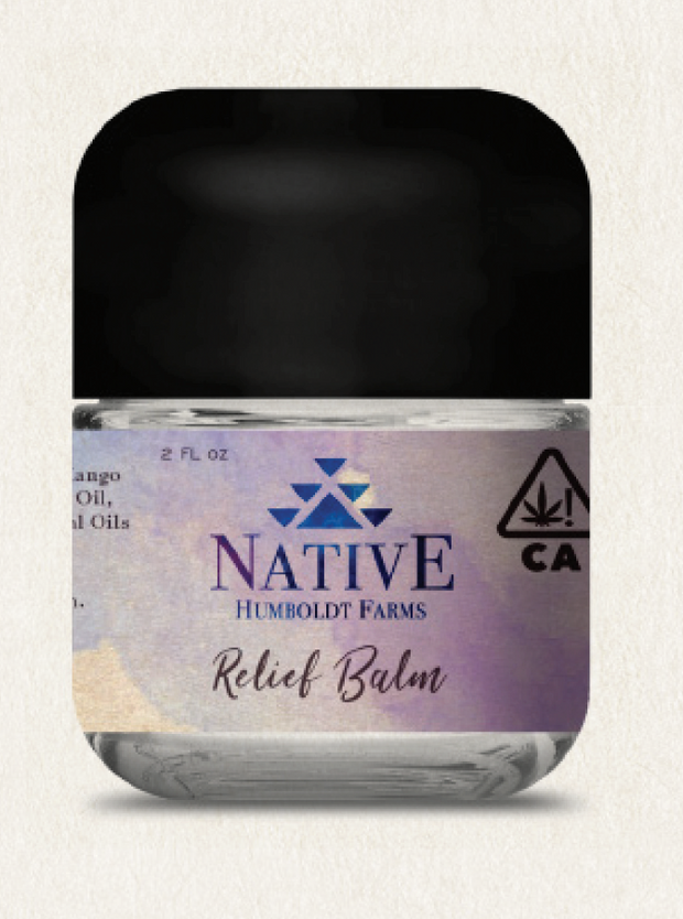 Native Humboldt Farms Relief Balm