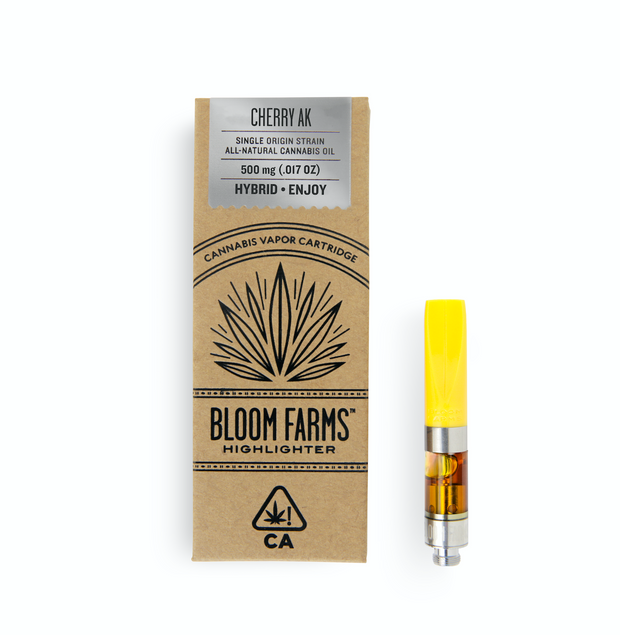 Bloom Farms Cherry AK 0 5g Cartridge