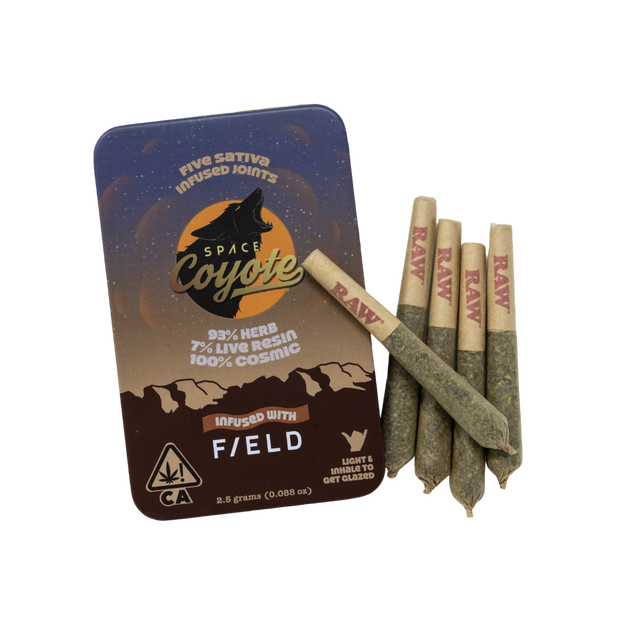 space coyote pre-rolls hash infused 5 pack buy cannabis sonoma county
