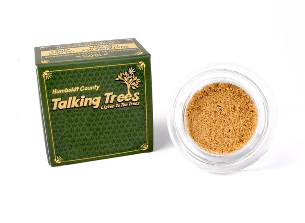 Talking trees Zkittlez strain Bubble Hash