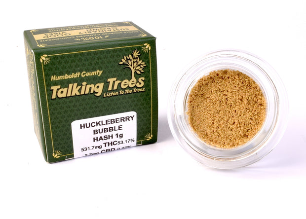 Talking Trees Farms Huckleberry Strain Bubble Hash Petaluma