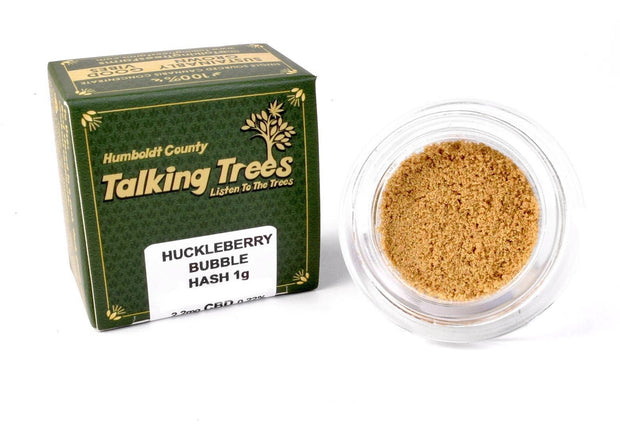 Talking Trees Huckleberry Bubble Hash