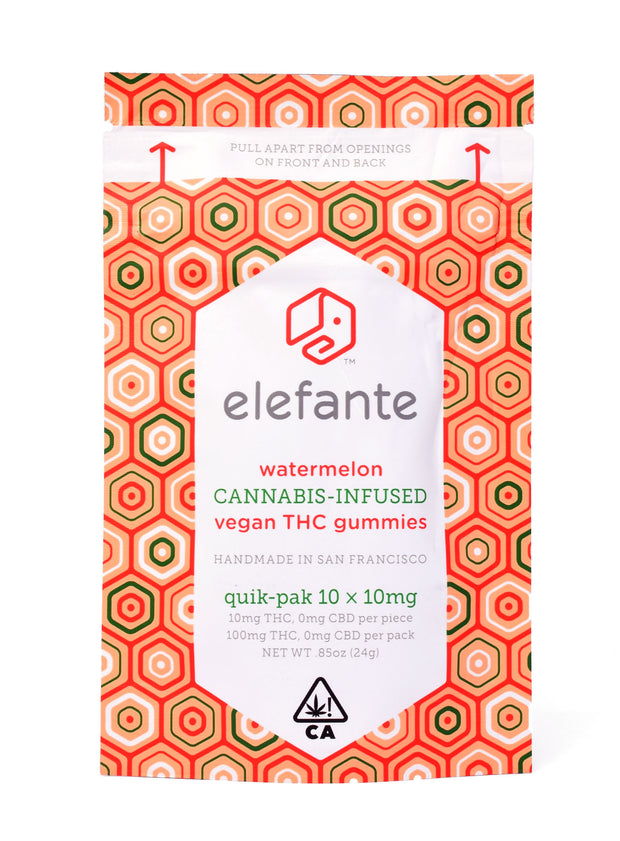 Elefante Watermelon Gummies 100mg
