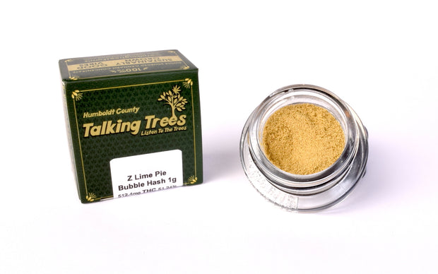 Key Lime Pie Strain Talking Trees Bubble Hash