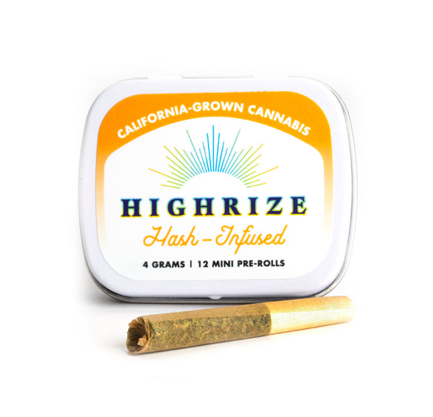 Highrize bubble hash infused joints