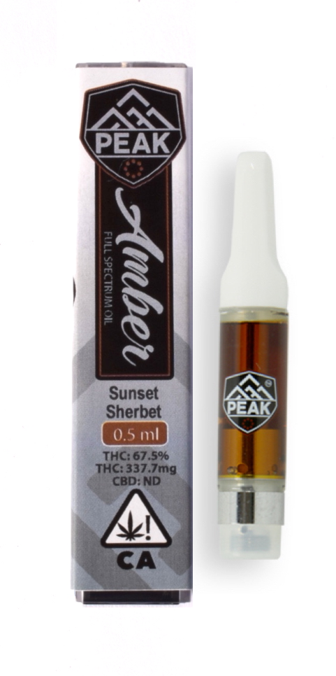 Sunset Sherbet Full Spectrum oil cartridge