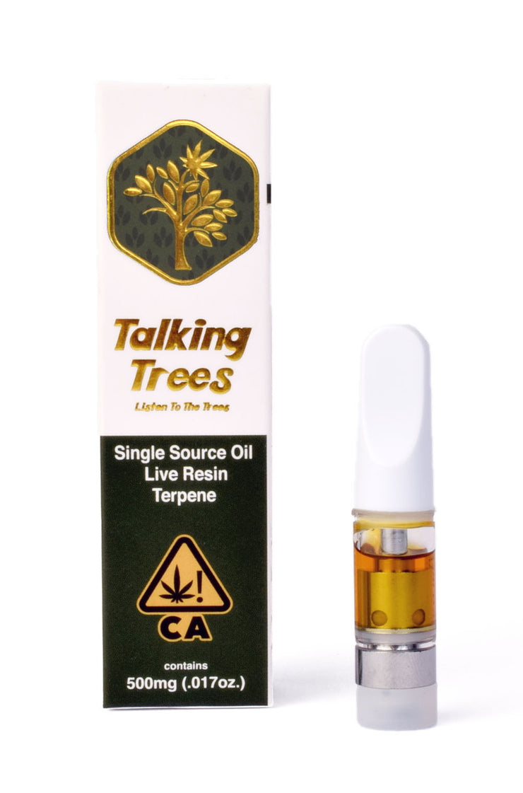 Talking Trees live resin cartridge