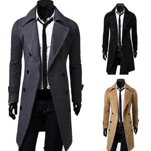 men's coats & jackets collection - image male model wearing goose down coat.