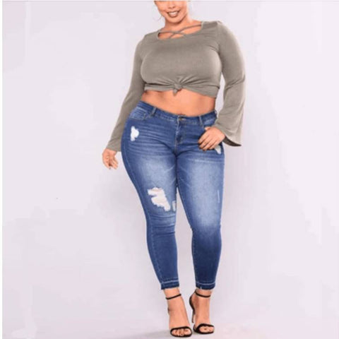 What plus size jeans to wear in 2019