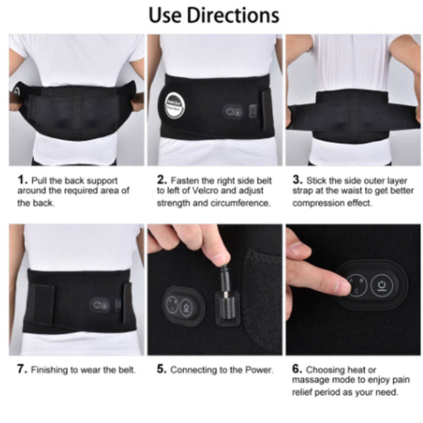 Portable Back Support & Therapy Belt