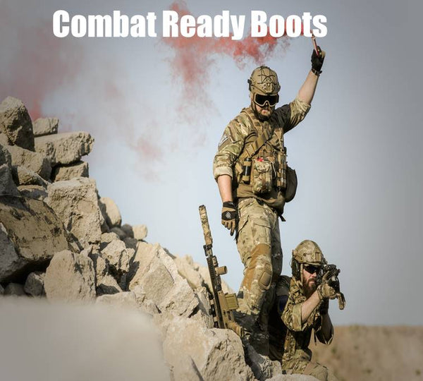 combat ready boots