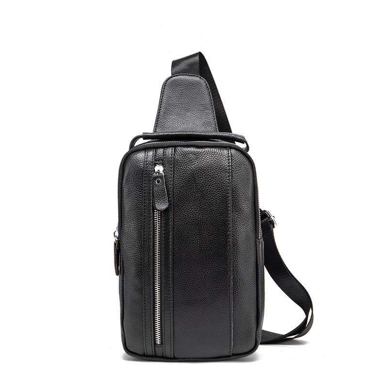 Soft Leather crossbody day bag Men's Bags 7 Wallet VidaDeCalle