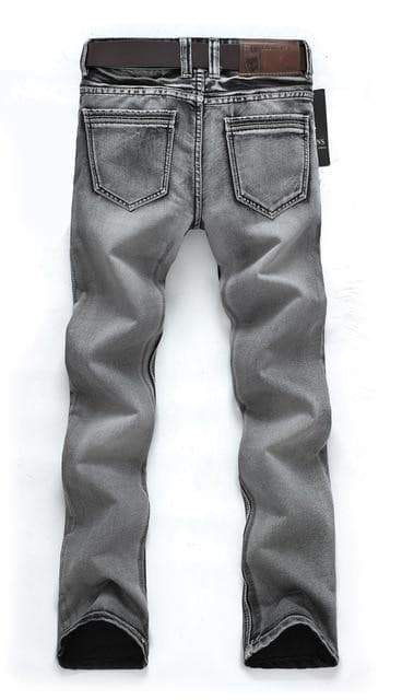 Retro Straight Denim Jeans hommes jeans VidaDeCalle