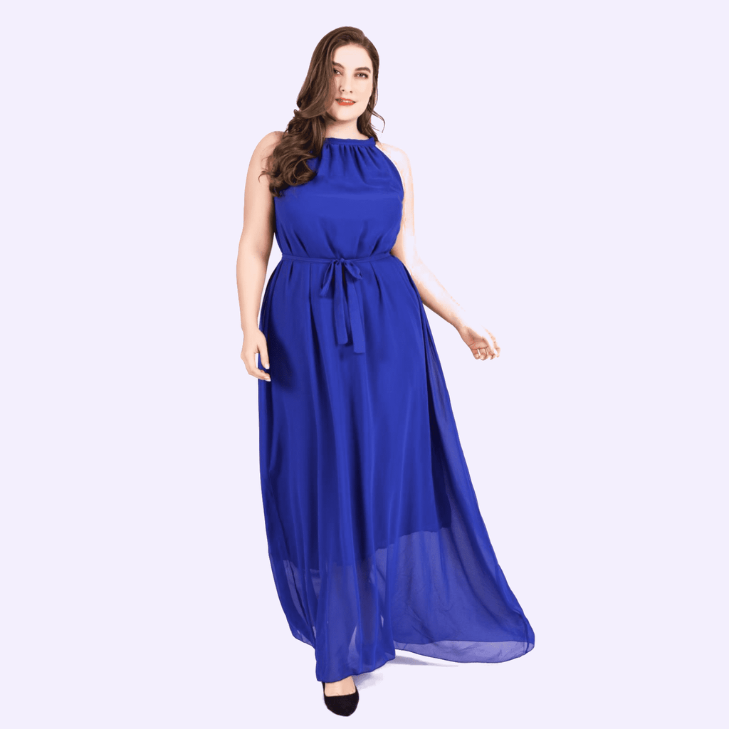 Halter Neck Maxi Dress Womens Dresses VidaDeCalle