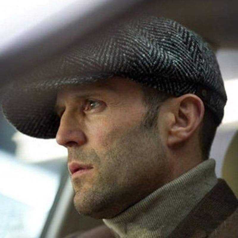 Newsboy Cap Movie Star Retro Driving Wool Fleece Hat men hat VidaDeCalle