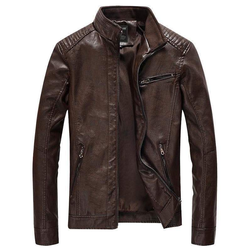 Harvy - Stand Collar Casual Jacket mens coat jacket VidaDeCalle