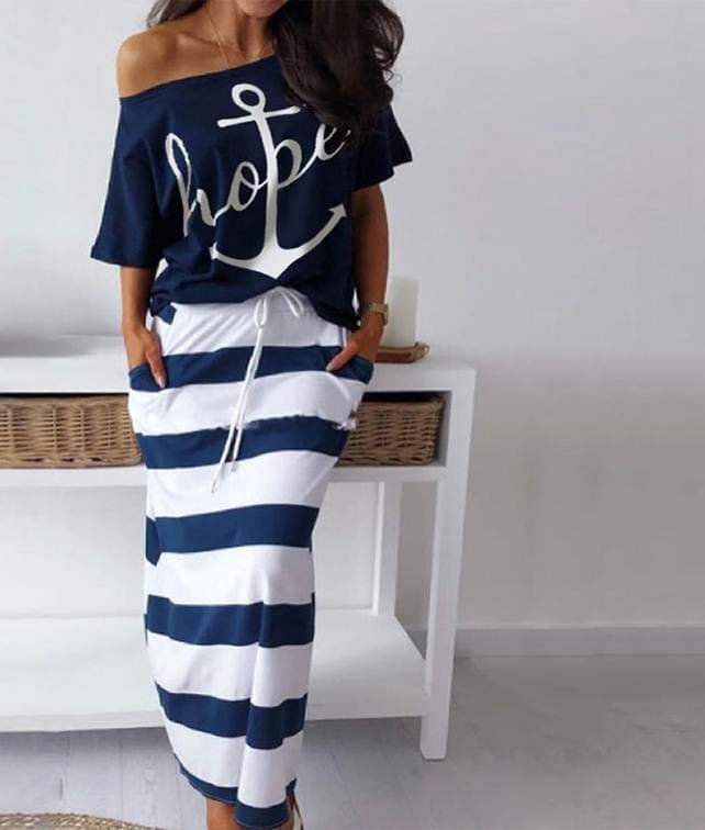 Vintage Sailor Costume 2 Piece Set  VidaDeCalle
