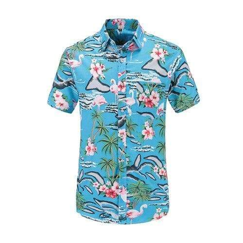 Summer Floral beach shirt mens shirts VidaDeCalle