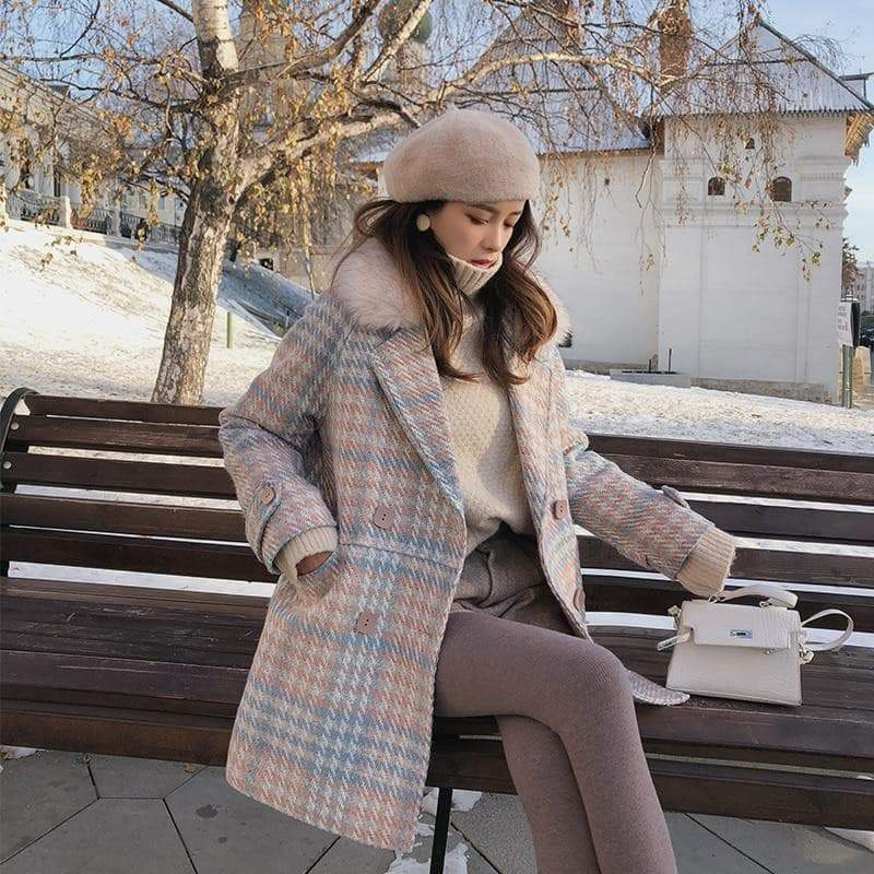 Gorgeous Elegant and Warm women's wool coats coat VidaDeCalle