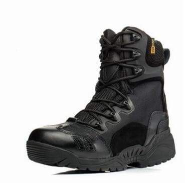 Black Storm Tactical Military Boots mansskoene VidaDeCalle