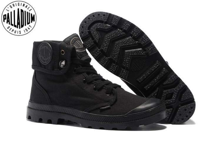 Hi-top Military Enkle Boots mans stewels VidaDeCalle