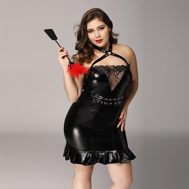 Plus Size Role Play Outfit Damen Dessous VidaDeCalle