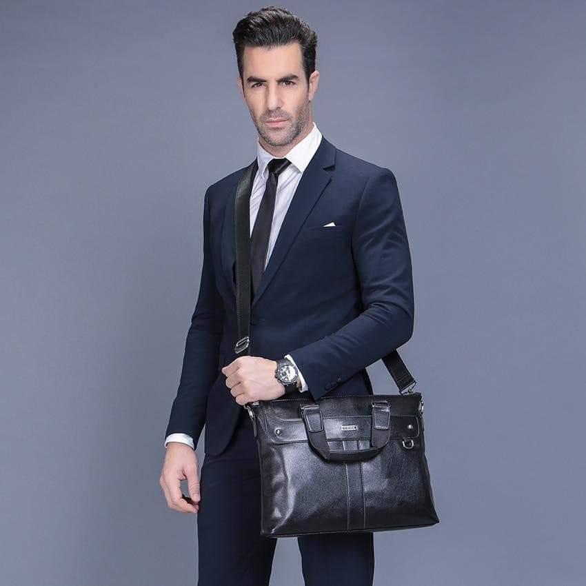 Casual Briefcase Business Sac à bandoulière hommes sac VidaDeCalle
