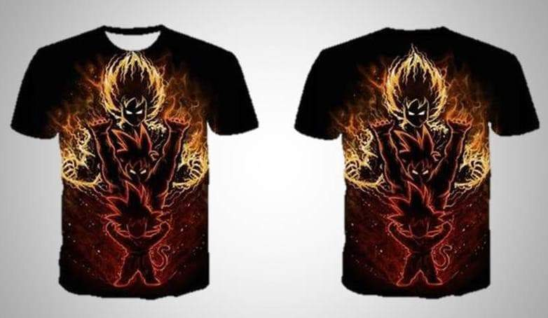 T-shirt Goku's Spirit Ball VidaDeCalle