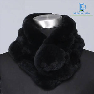 Real rabbit fur scarf - vidadecalle