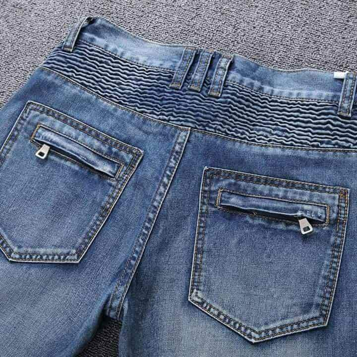 Jean Slim Ripped Denim jeans homme VidaDeCalle