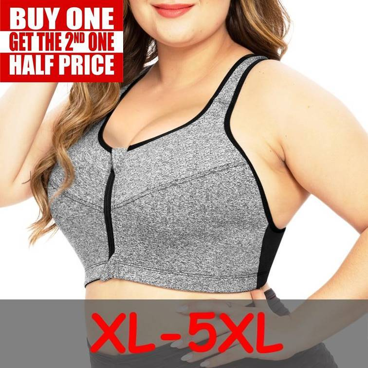 Plus Size Seamless Sports Bra