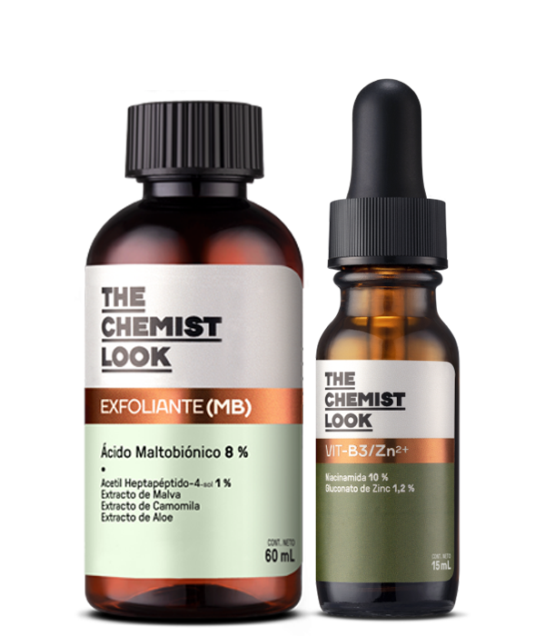 KIT MB + Vit-B3/Zn-The Chemist Look