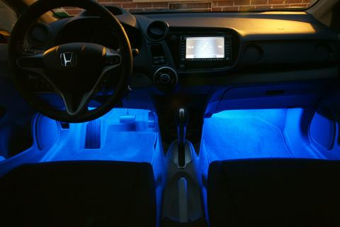Neon Car Floor Lights