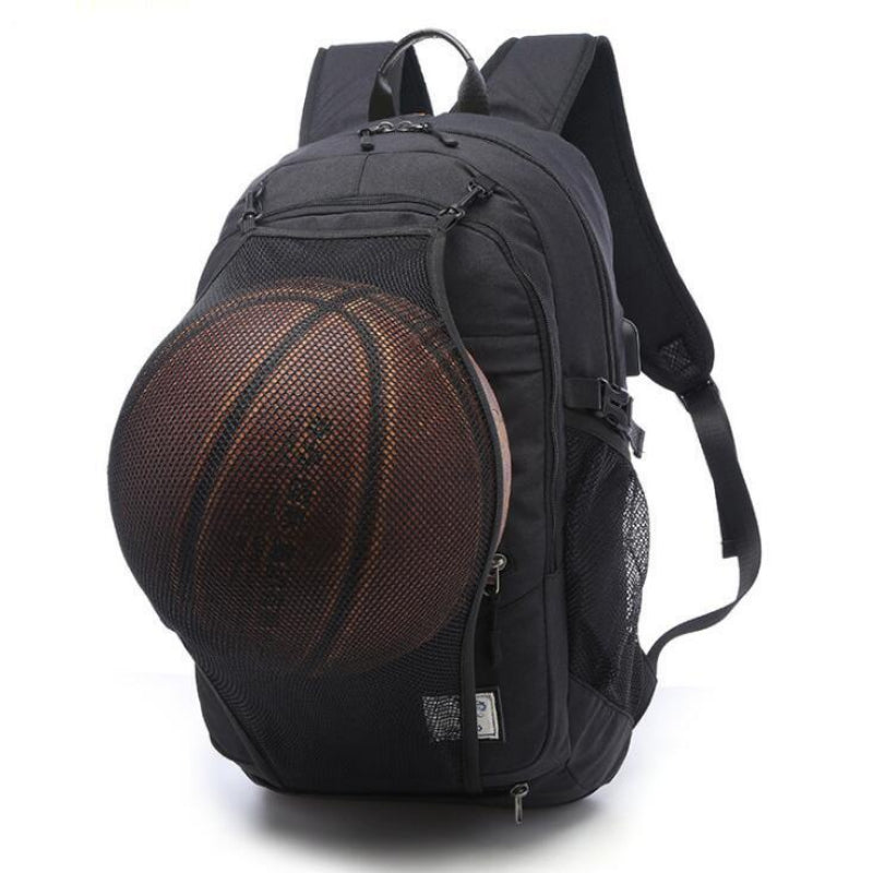 Men's Sports Backpack with USB Charging Port