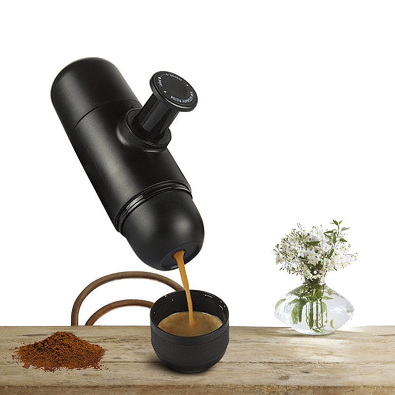 Mini Manual Portable Coffee Maker Mini Espresso Manually Handheld Pressure Espresso Coffee Machine Pressing For Home Travel