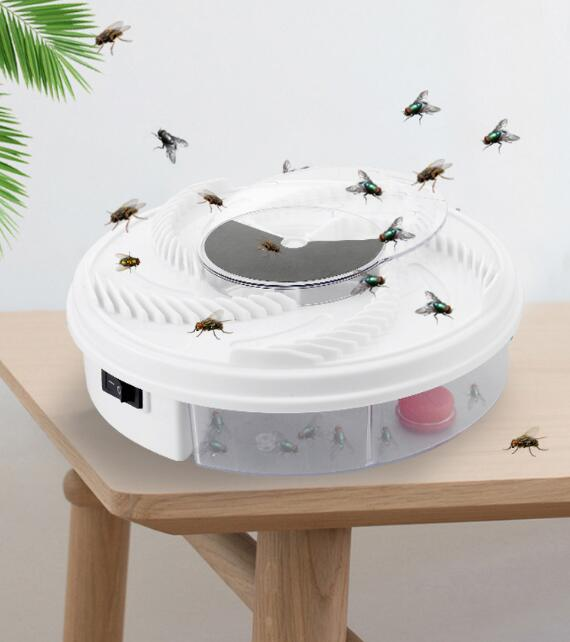 Hot sale Electric Fly Trap Device with Trapping Food - WHITE USB CABLE
