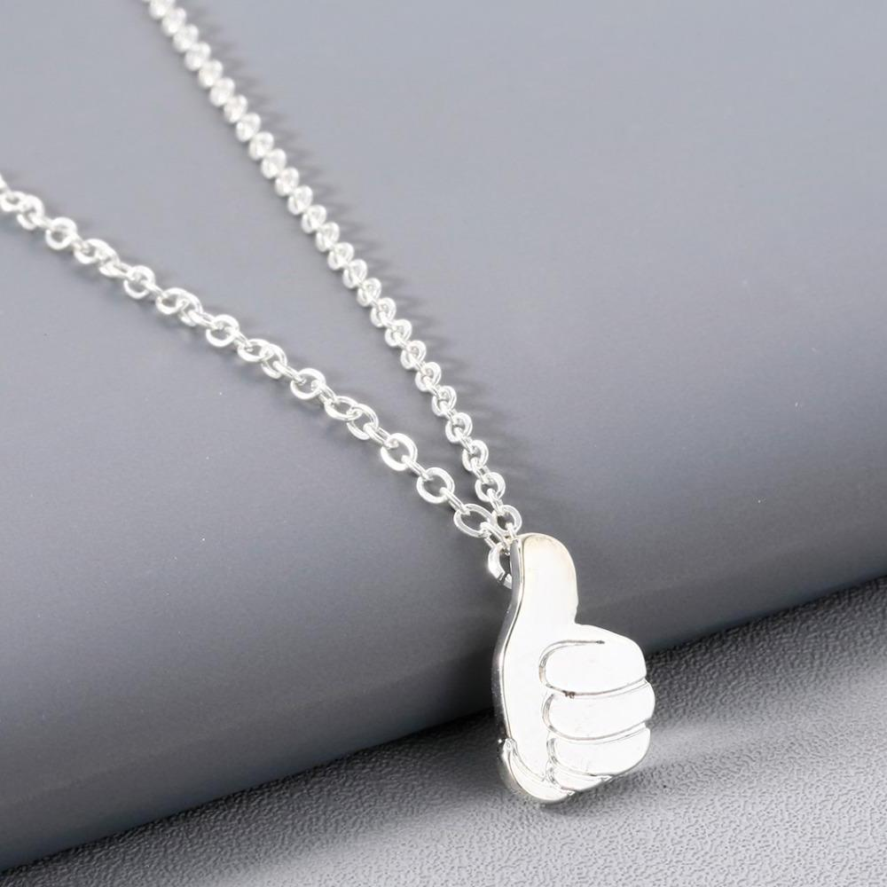 Mac Miller Tribute Thumbs Up Necklace