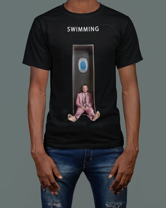 "Mac Miller Universal ""Swimming"" Album T-Shirt"