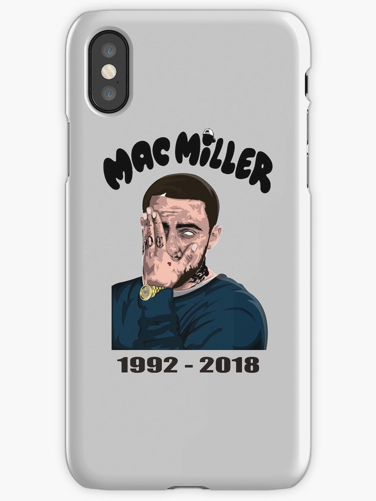 Mac Miller 1992-2018 Art iPhone Case
