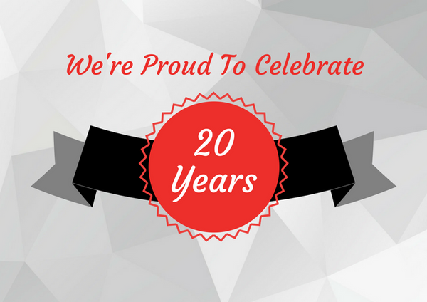Our 20th Year Of Growth