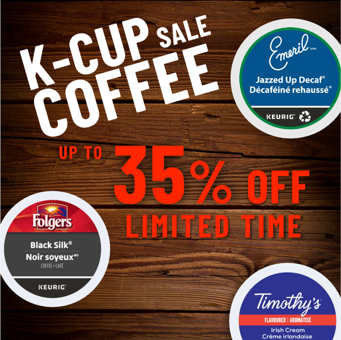 Up to 35% Off K-Cup® Sale