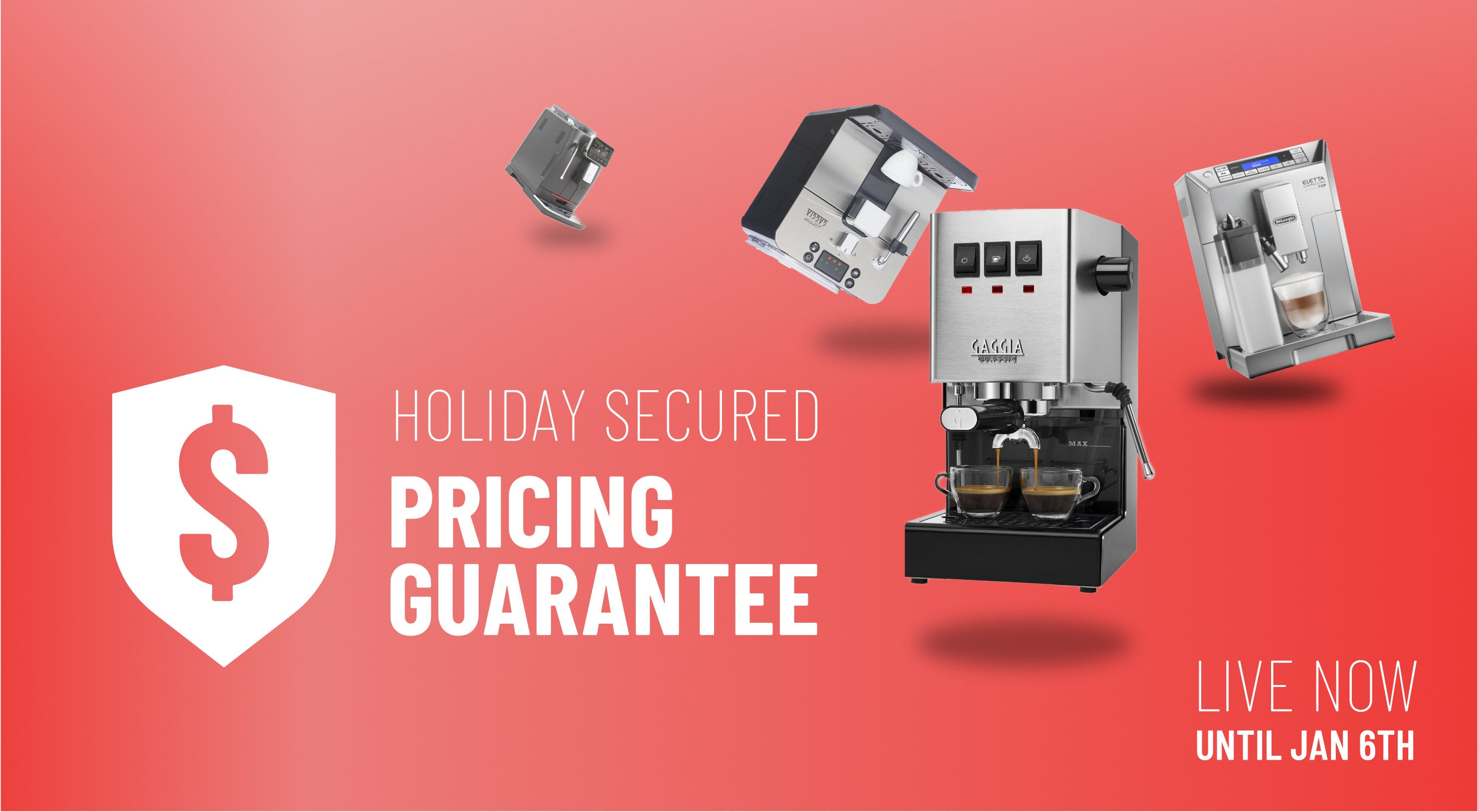 Holiday Secured Pricing Guarantee