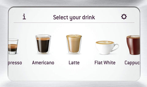 Select Your Favourite Drinks