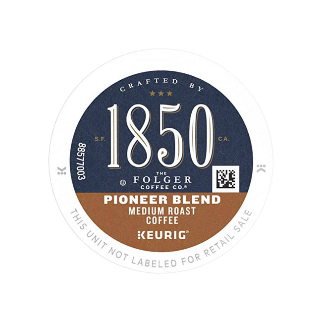1850 Folgers Pioneer Blend K-Cup® Recyclable Coffee Pods (Box of 24)